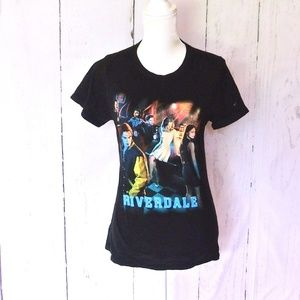 Riverdale Series Characters Graphic T-Shirt L